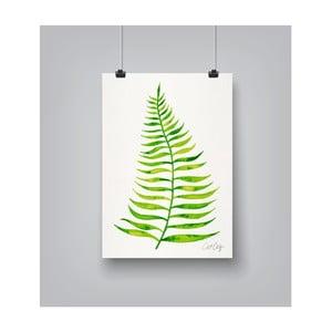 Plakat Americanflat Palm Leaf, 30x42 cm