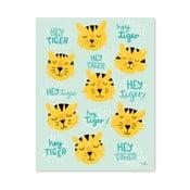 Plakat Michelle Carlslund Hey Tiger, 50x70cm