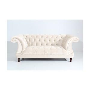 Kremowa sofa dwuosobowa Max Winzer Ivette