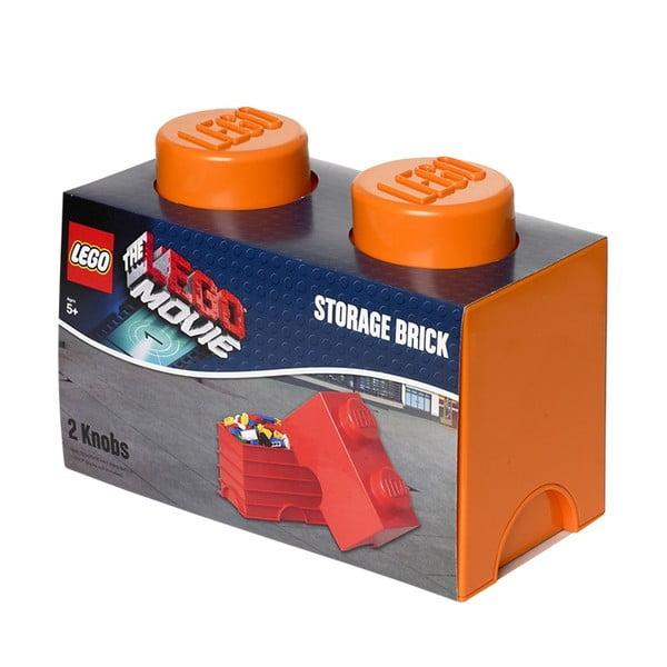 Pudełko Lego, pomarańczowe