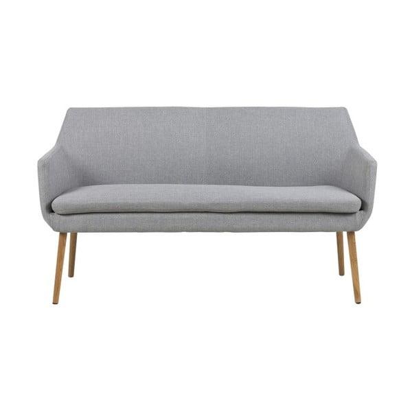 Jasnoszara sofa Actona Nora