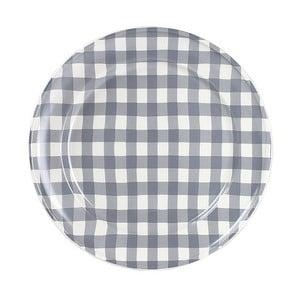 Talerz ceramiczny Marikere Grey, 24 cm