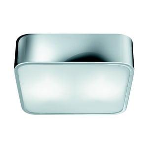Lampa sufitowa Searchlight Flush, 25 cm, srebrna