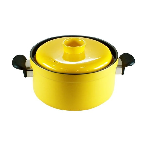 Garnek Casserole Design Yellow, 4l