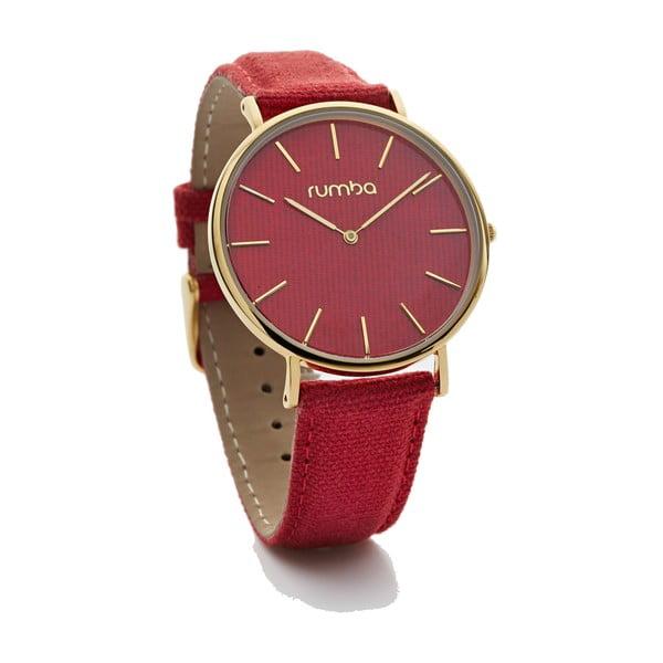 Czerwony zegarek damski Rumbatime Soho Denim