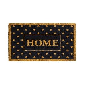 Złoto-czarna wycieraczka Hamat Home Dots, 40x70 cm