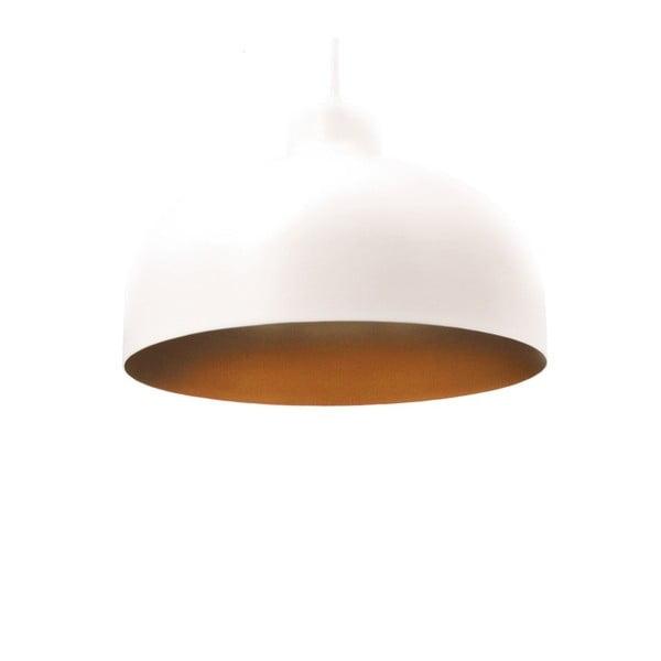 Biało-złota lampa wisząca Loft You B&B, 22 cm