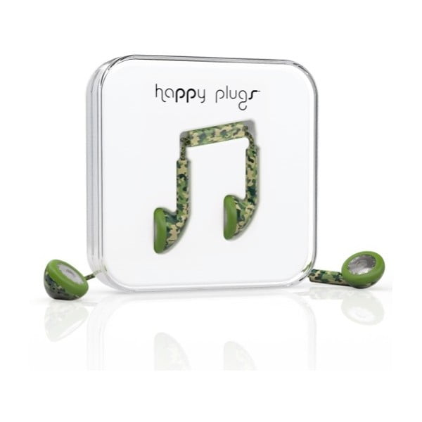 Słuchawki Happy Plugs Camouflage