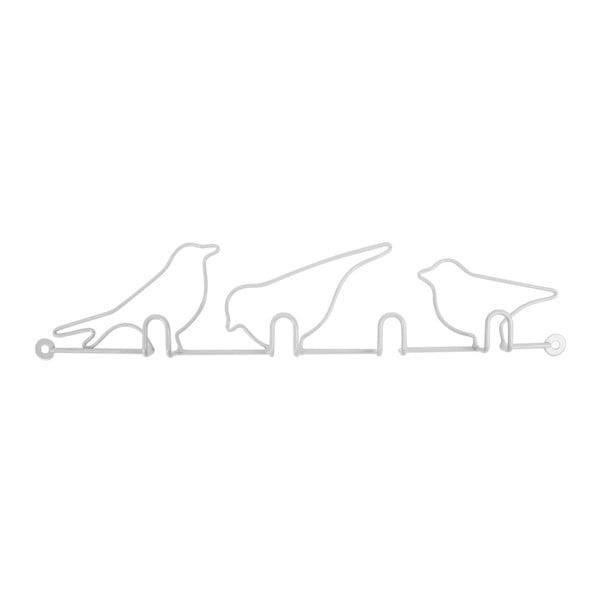 Wieszaki Oiseaux White