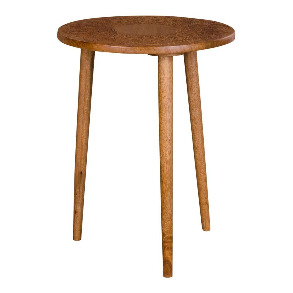 Stolik z drewna mango House Nordic Makalu