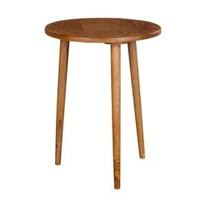 Stolik z drewna mangowego House Nordic Makalu