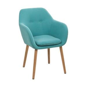Niebieskie krzesło Actona Emilia