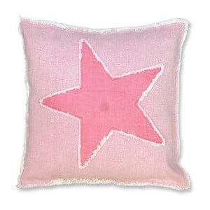 Poduszka Star 45x45 cm, różowa