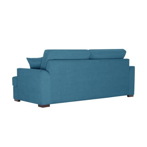 Sofa trzyosobowa Jalouse Maison Irina, niebieska