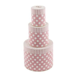 Zestaw 3 pudełek Stripes and Dots