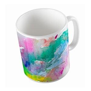 Ceramiczny kubek Water Colour, 330 ml