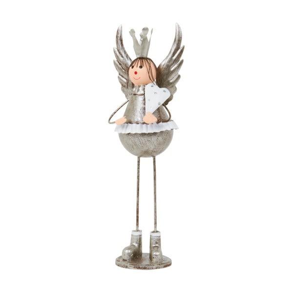 Dekoracja Archipelago Silver Bell Angel, 21,5 cm