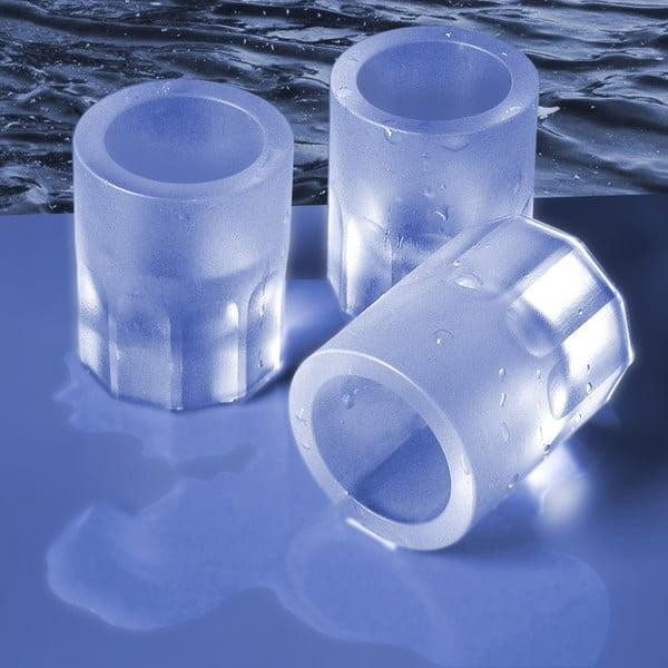 Forma do kostek lodu w kształcie kieliszów