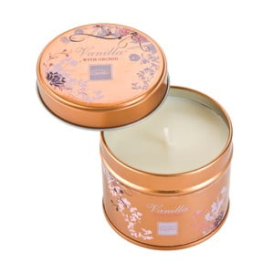 Świeczka zapachowa w puszce Vanilla with Orchid, czas palenia 32 godziny