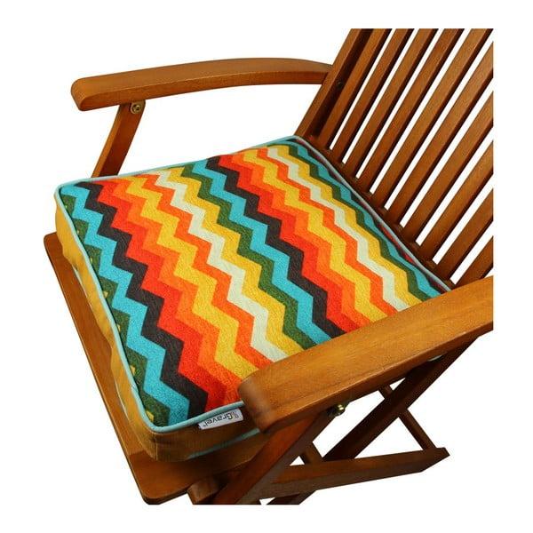 Poduszka na krzesło z wypełnieniem Essex, 42x42 cm