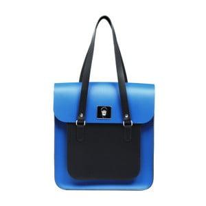 Niebiesko-czarna skórzana torebka Brix + Bailey Rosemont