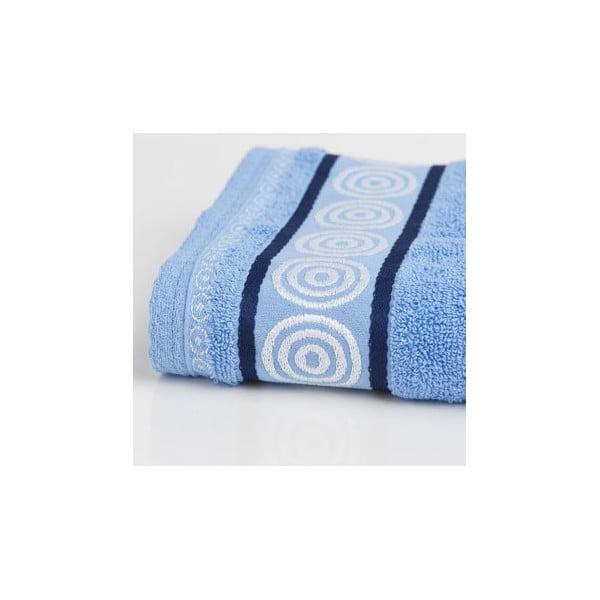 Ręcznik Fraza Rondo Blue, 70x140 cm
