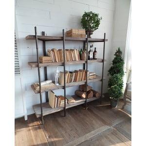 Biblioteczka Industrial, 150x40x151 cm