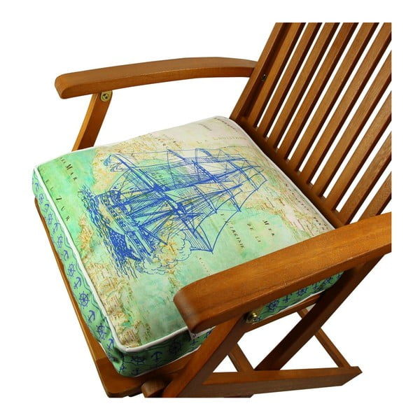 Poduszka na krzesło z wypełnieniem Glen, 42x42 cm