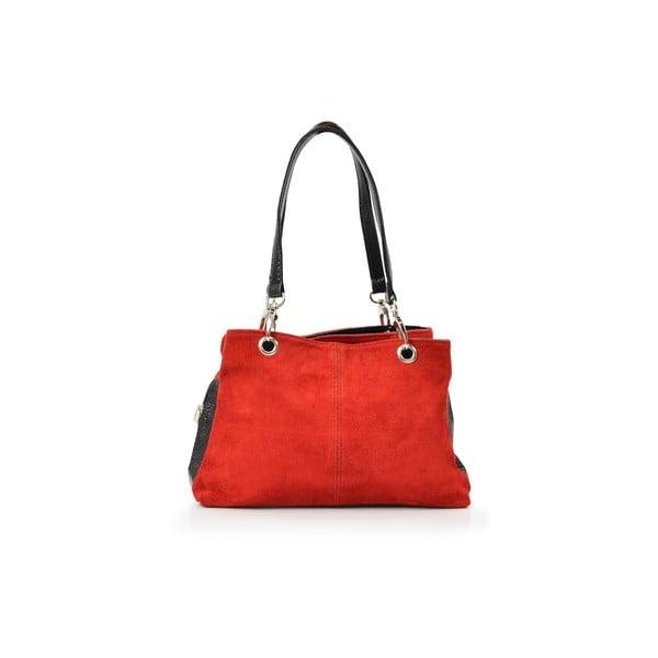 Skórzana torebka Gigi, czerwona