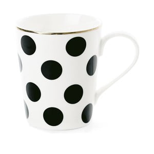 Kubek ceramiczny Miss Étoile Coffee Big Black Dots