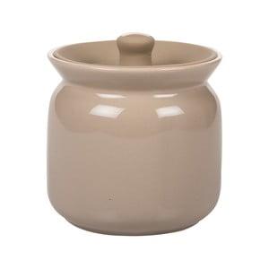 Ceramiczny pojemnik Biscottiera Sand, 11x11 cm