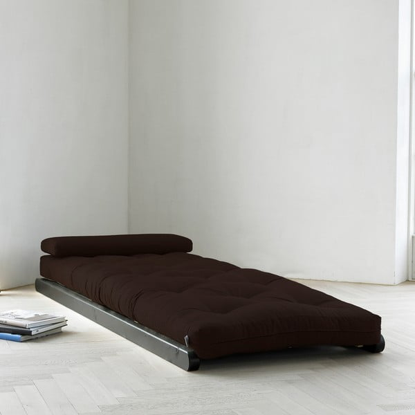 Szezlong Karup Figo, Wenge/Brown, 70 cm