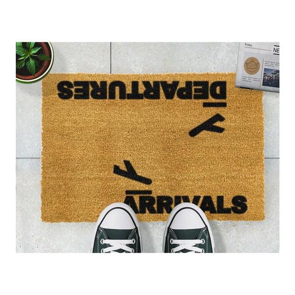 Wycieraczka Artsy Doormats Arrivals and Departures, 40x60 cm