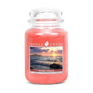 Świeczka zapachowa w szklanym pojemniku Goose Creek Zachód słońca, 0,68 kg