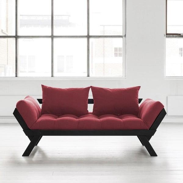 Sofa Karup Bebop Black/Bordeaux