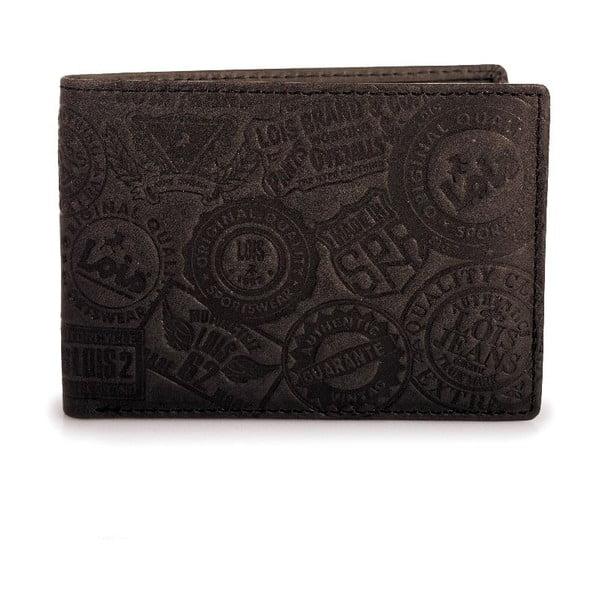 Skórzany portfel Lois Brownie, 11x8 cm