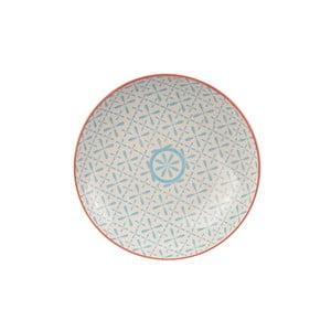 Talerz porcelanowy Animal Colored Red/Blue, 25.7 cm