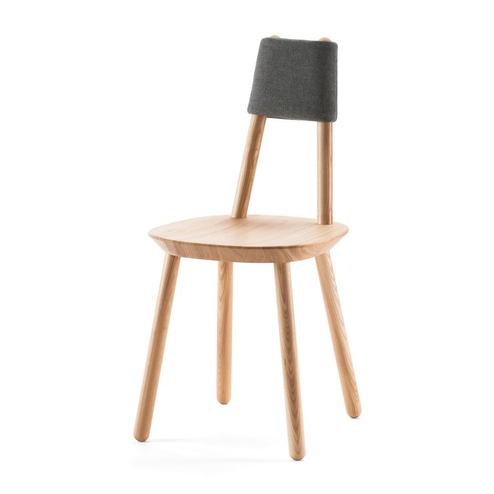 Naturalne krzesło z litego drewna EMKO Naïve