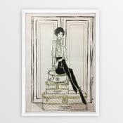 Plakat w ramce Piacenza Art Chanel Suitcases, 30x20cm
