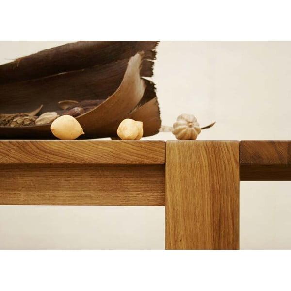 Stół dębowy Fornestas Goliath, 180x90 cm
