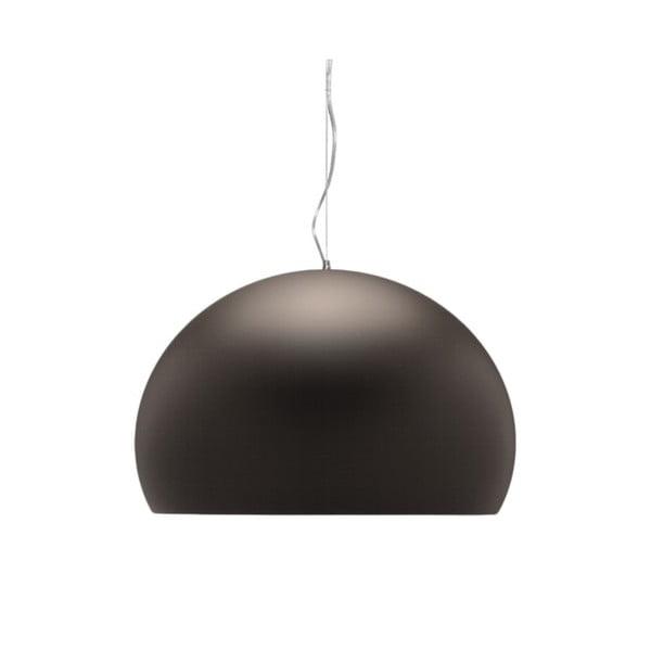 Brązowa lampa wisząca Kartell Fly