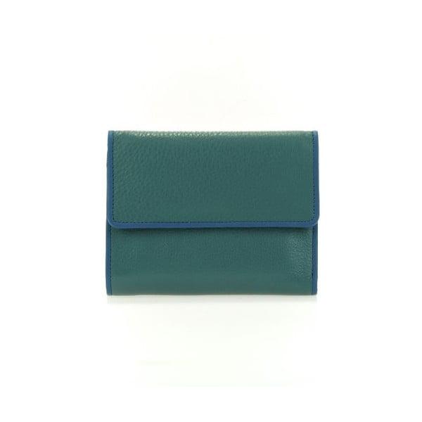 Portfel  Flapover Blue/Green