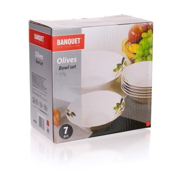 Zestaw misek Banquet Olives, 7 sztuk