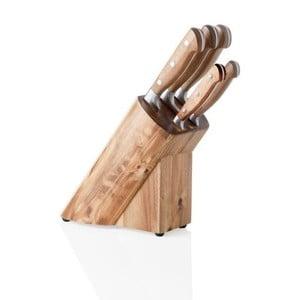 Blok z nożami ze stali nierdzewnej Brandani Cut