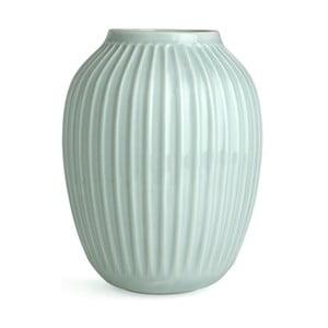 Bardzo duży miętowy wazon Kähler Design Hammershoi