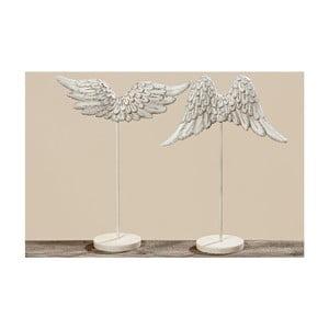 Zestaw 2 dekoracji Wings