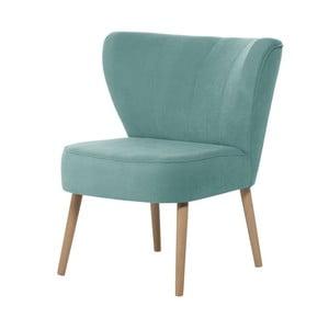 Błękitny fotel My Pop Design Hamilton