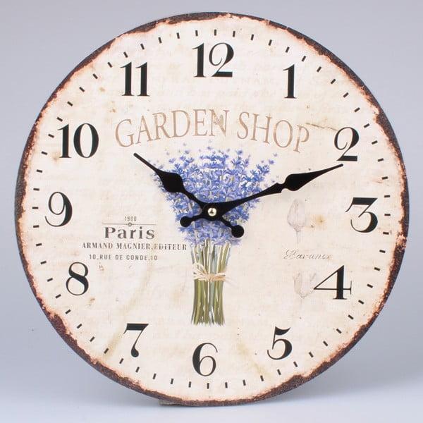Zegar Garden Shop