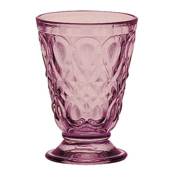 Czerwona szklanka La Rochère Lyonnais, obj. 200ml