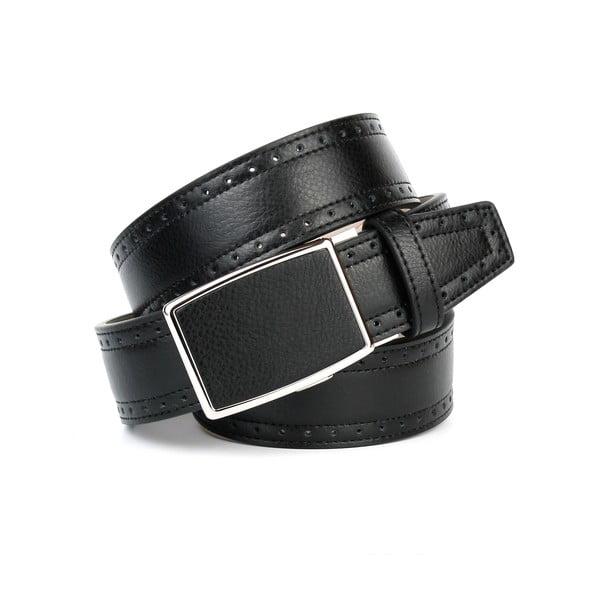 Pasek skórzany 18Т10H Black, 110 cm